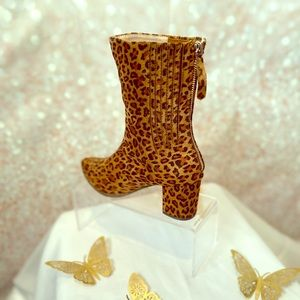 Brand New Leopard Print Boots